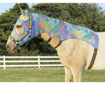 horse lycra mane tamer