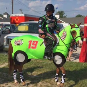 horse costumes race car 3