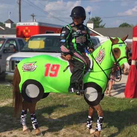 Horse Costumes Race Car 3
