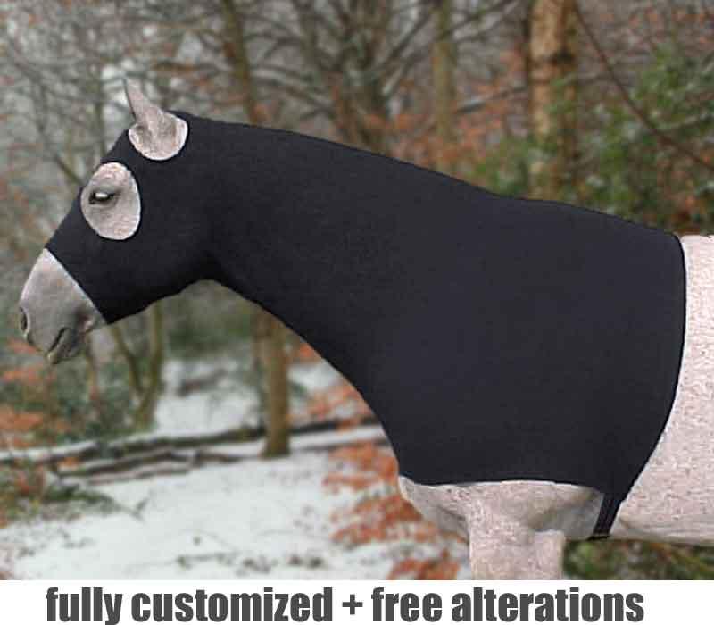 pony lycra hood