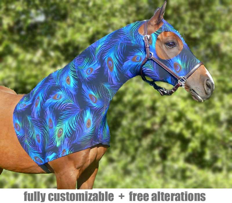 horse lycra sleazy hoodie