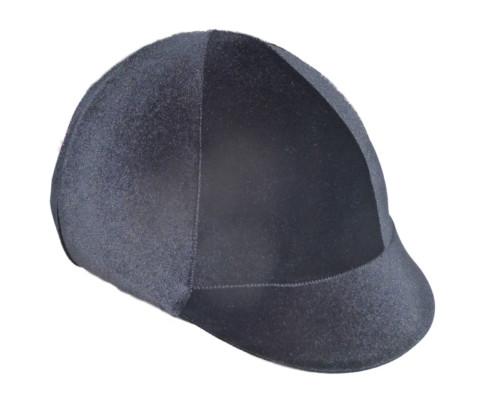 black velvet helmet cover