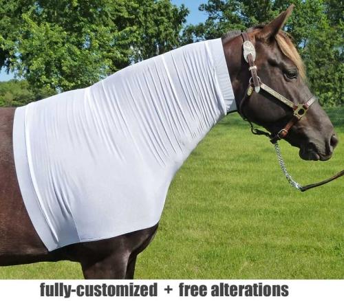 faceless sleezy in cool white mesh