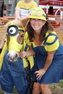 horse costume minion