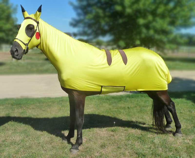 costumes for horses pokemon pikachu