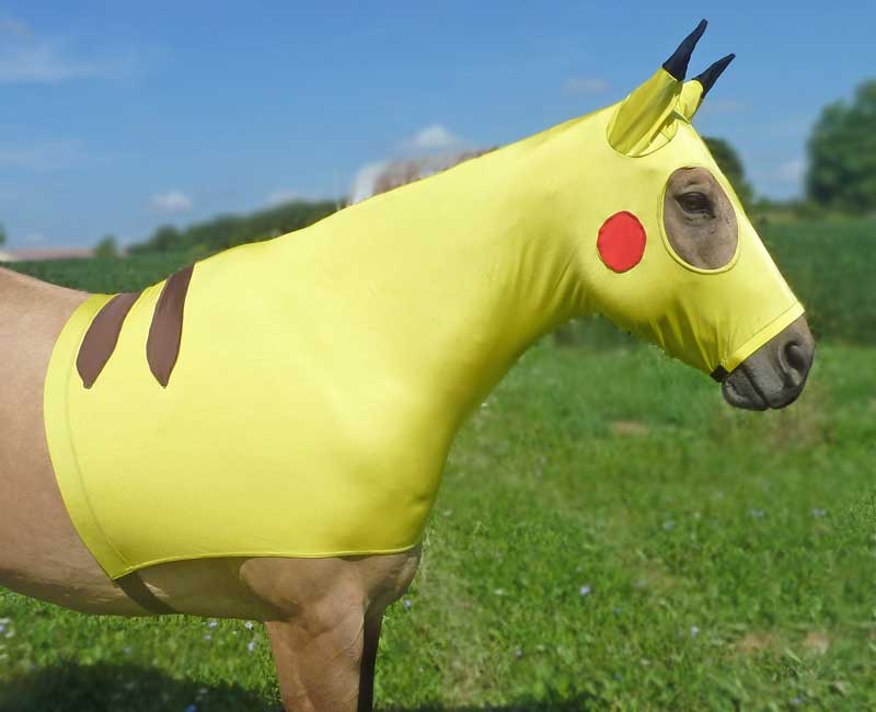 Costumes for Horses Pikachu Sleezy