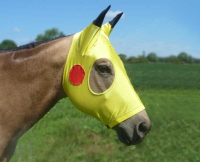 Costumes for Horses Pikachu Face Mask