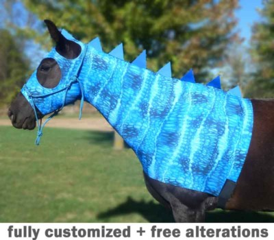 costumes for horses - dragon