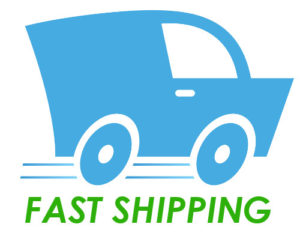 fast shipping logo