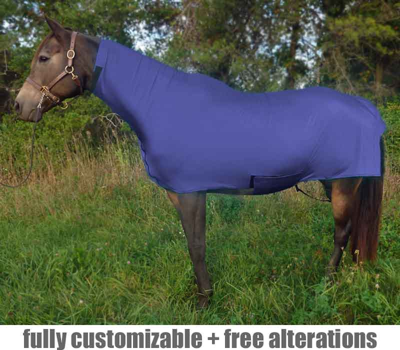 horse full-body sleazy faceless fleece