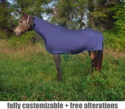 pony full bodysuit no face fleece