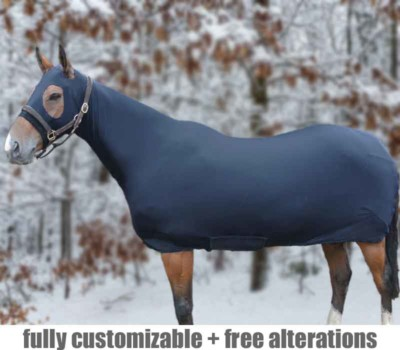 horse full body suit fleece