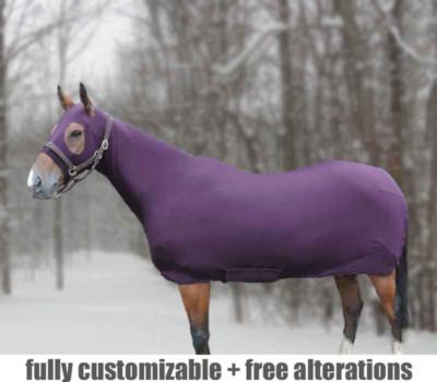 horse full body slinky fleece