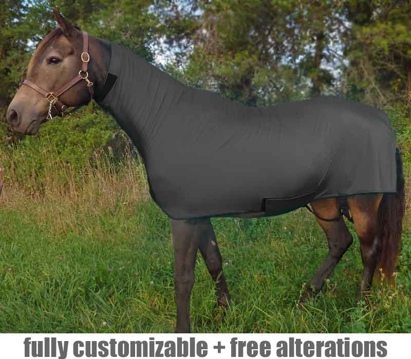 horse full body slinky heavy duty faceless