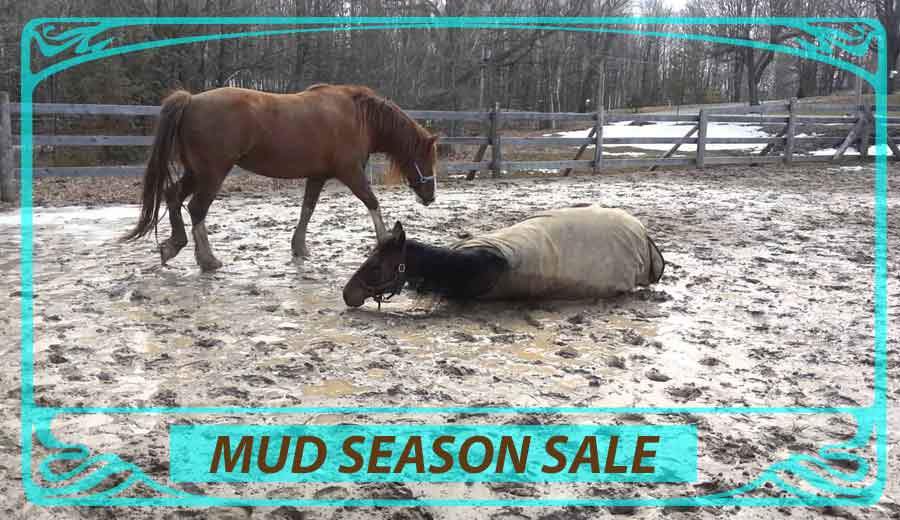 mud season sale