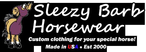 Sleezy Barb Horsewear Logo