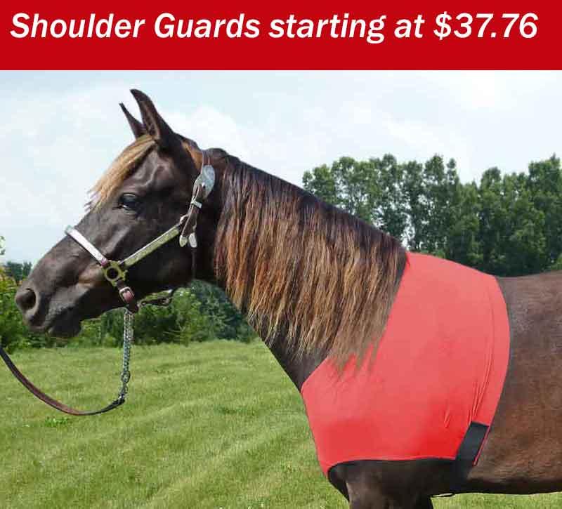 horse lycra shoulder saver