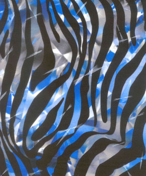Shattered Zebra-Blue
